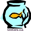 Fishbowl Vector Clip Art picture