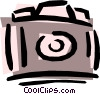 Vector Clipart image  of a Camera
