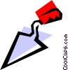 Vector Clip Art picture  of a Trowel
