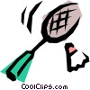 Badminton Vector Clipart illustration