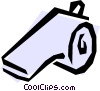 Whistle Vector Clipart illustration