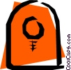 Vector Clip Art picture  of a Life preserver