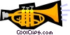 Vector Clip Art graphic  of a Harps