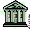 Banking symbol Vector Clipart image
