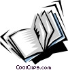 Vector Clipart picture  of a Book