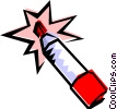 Vector Clip Art image  of a Marking pen