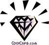 Diamond Vector Clipart picture