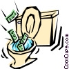 Toilet Vector Clipart graphic