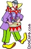 Clown Vector Clip Art picture
