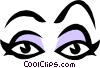 Eyes Vector Clipart picture