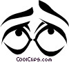 Eyes Vector Clipart illustration