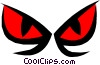 Vector Clipart picture  of a Eyes