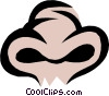 Vector Clip Art graphic  of a Nose