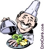 Chef Vector Clipart graphic