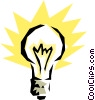 Light bulb Vector Clipart image