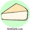 Camembert cheese Vector Clipart graphic