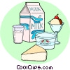 Vector Clipart graphic  of a Camembert cheese