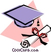 Diploma Vector Clip Art graphic
