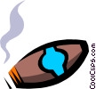Cigar Vector Clip Art picture