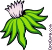 Vector Clipart graphic  of a Flower
