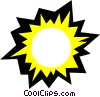 Sun Vector Clip Art graphic