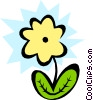 Vector Clip Art image  of a Plants