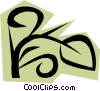 Leaves Vector Clipart graphic