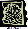 Vector Clipart illustration  of a Leaves