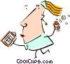 Vector Clipart picture  of a Nurse