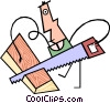 Vector Clip Art graphic  of a cool stuff
