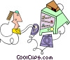Vector Clipart graphic  of a cool stuff