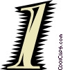 Font Vector Clip Art image