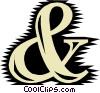 Font Vector Clipart illustration