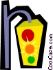 Traffic lights Vector Clipart graphic