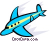 Vector Clip Art picture  of a Planes
