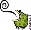 Vector Clipart illustration  of a Frog