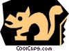 woodcuts Vector Clipart picture