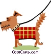 Vector Clipart picture  of a Dog