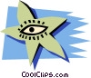 Vector Clip Art graphic  of a Starfish