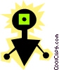 Aliens Vector Clipart picture