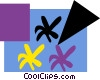 Vector Clip Art picture  of a Decorative designs