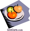 Vector Clipart picture  of a Fruits