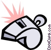 Whistle Vector Clipart image