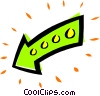Vector Clip Art image  of an Arrows