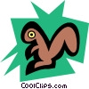 Squirrel Vector Clipart image