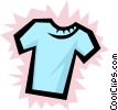 Vector Clipart illustration  of a Shirt