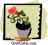 Vector Clip Art picture  of a Houseplant