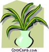 Houseplant Vector Clipart picture