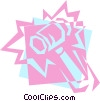 Vector Clip Art picture  of a Gavel