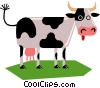 Dairy cow Vector Clipart picture